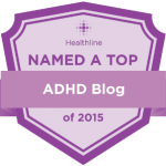 Named a Top ADHD Blog of the Year