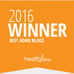 Awarded Best ADHD Blogs of 2016